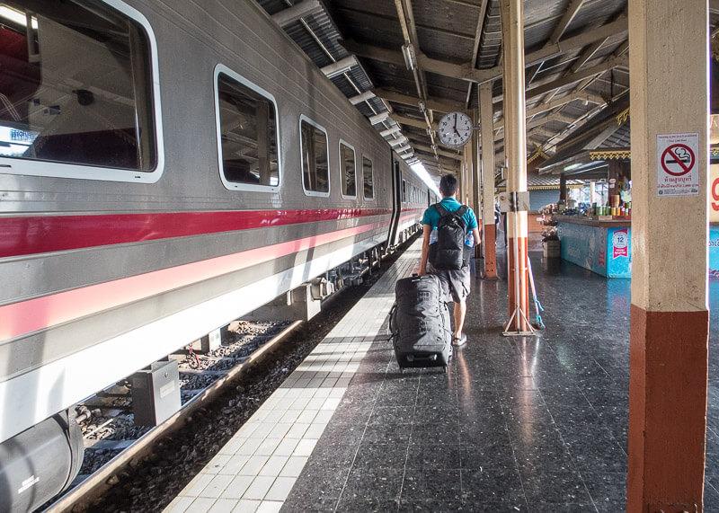 Chiang Mai Train Station platform
