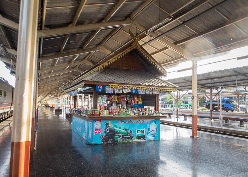 This Is What The Chiang Mai Train Station Looks Like