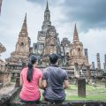 In sukhothai before heading to chiang mai by train