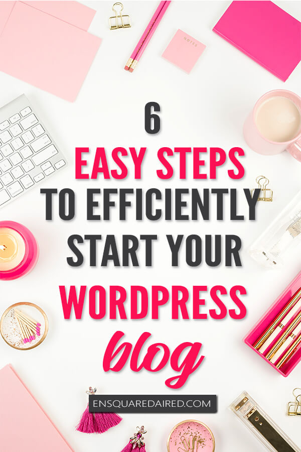 How to start a blog wordpress - 1