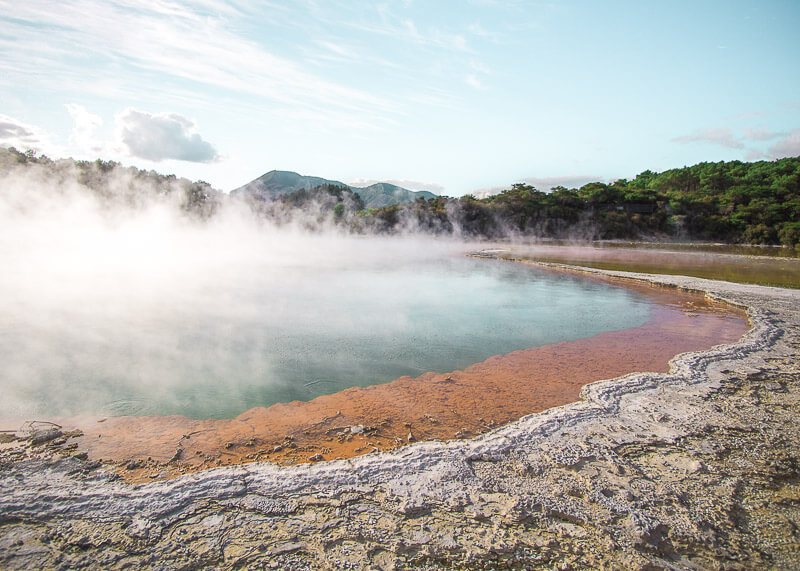 nomadic life new zealand japan - champagne pool waiotapu
