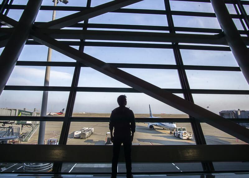 nomadic life new zealand japan - airport terminal