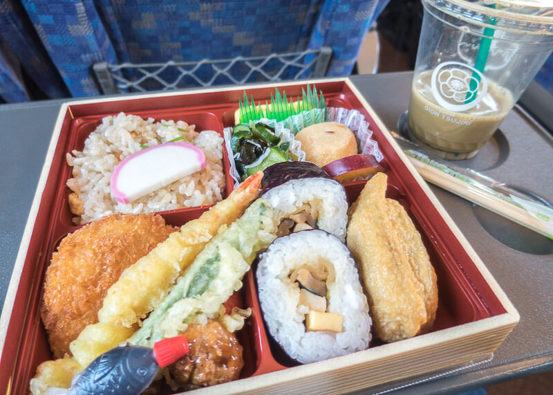 nomadic life new zealand japan - japan bento box lunch