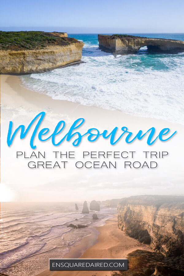 Great Ocean road stops pinterest pin