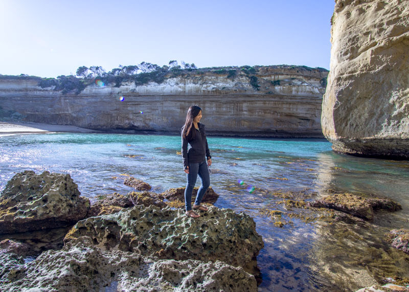 Great ocean road stops - Loch ard gorge