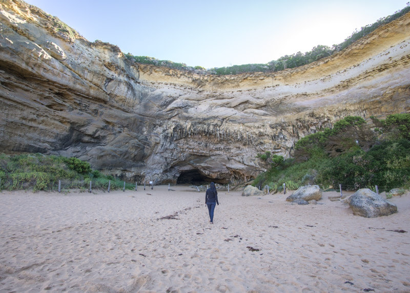 Great ocean road stops - Secluded beach