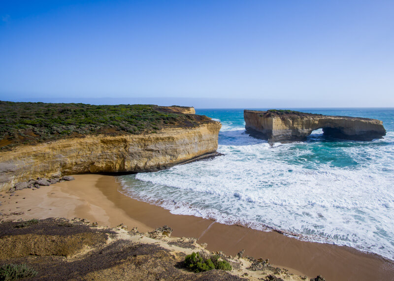 Great ocean road stops - London Arch