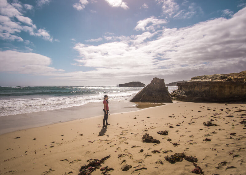 Great ocean road stops - Bay of Martyrs