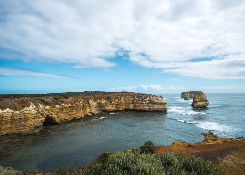 Great ocean road stops - Bay of Islands Warrnambool