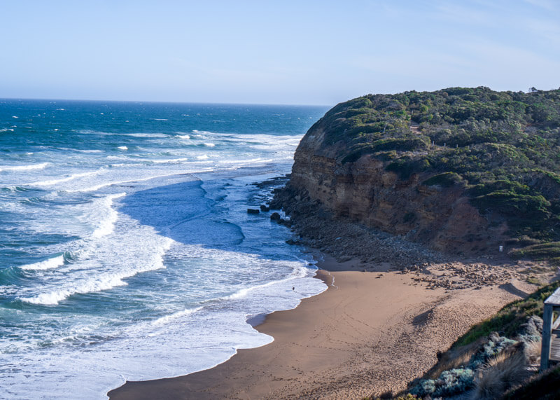 Great ocean road stops - Split Point lookout