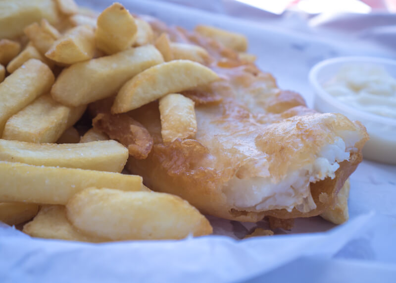 Great ocean road stops - Fish and chips