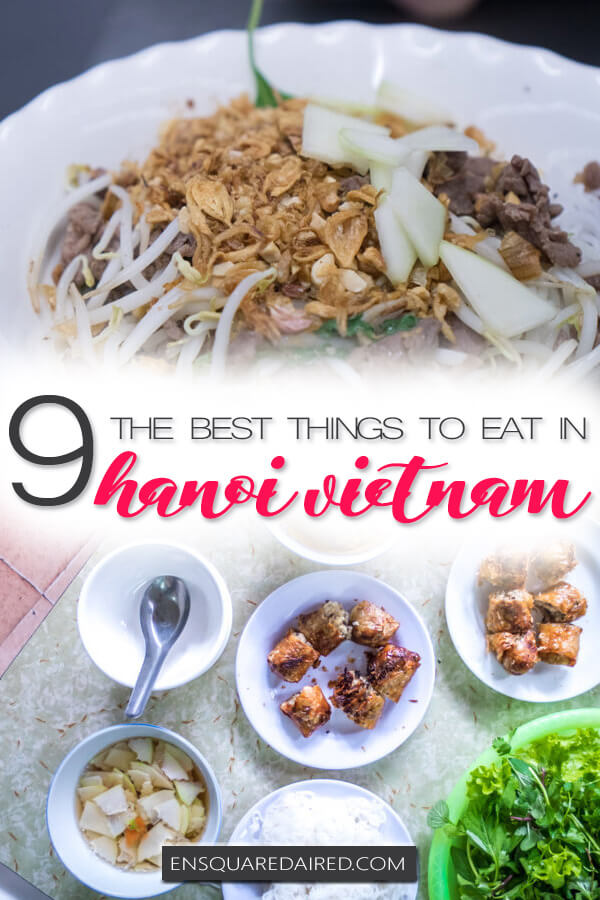 best food hanoi vietnam - pin
