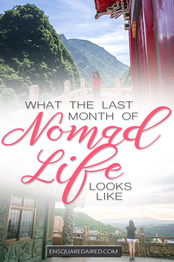 modern nomadic lifestyle - pin