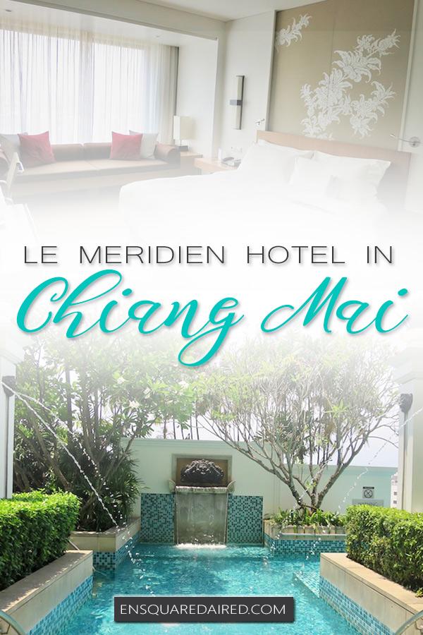 hotel le meridien chiang mai - pin