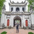 Hanoi trip blog - museum entrance