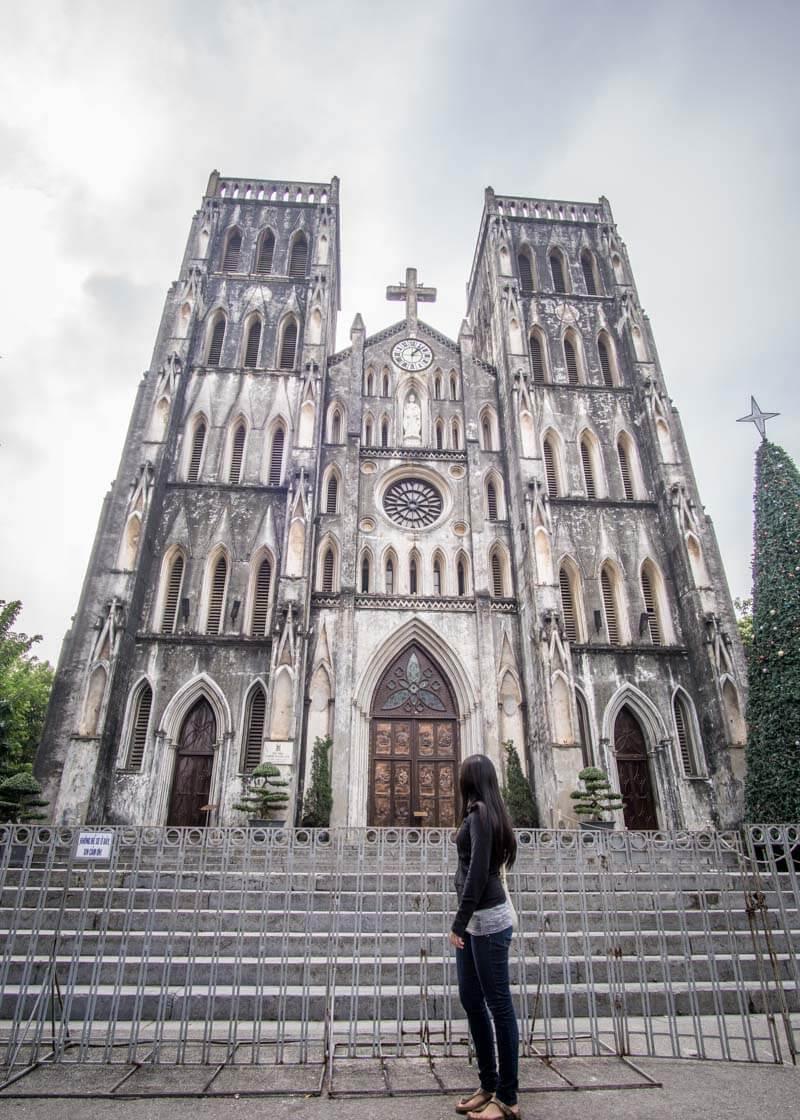 Hanoi trip blog - St. Joseph's Cathedral