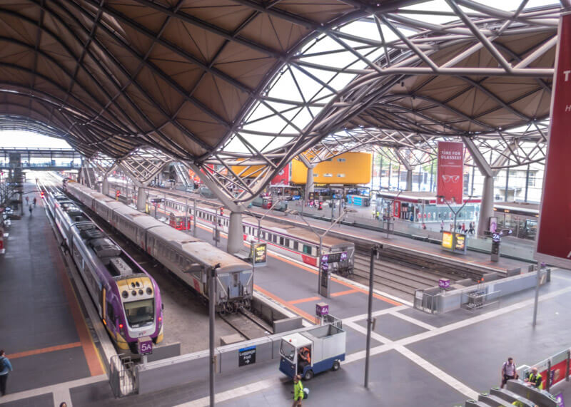 Melbourne travel blog - Southern Cross Station