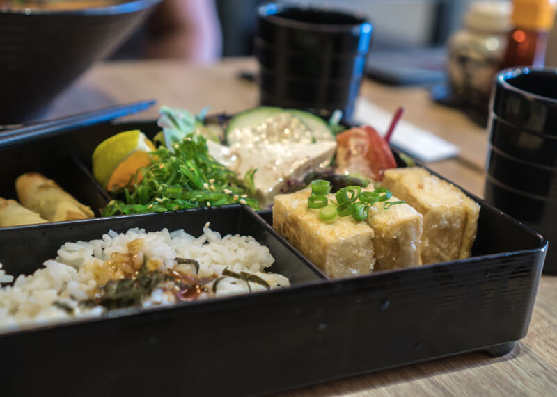 Melbourne travel blog - bento box