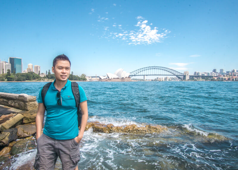 sydney travel blog - sydney opera house