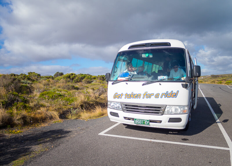 Great Ocean Road Tour From Melbourne - tour van