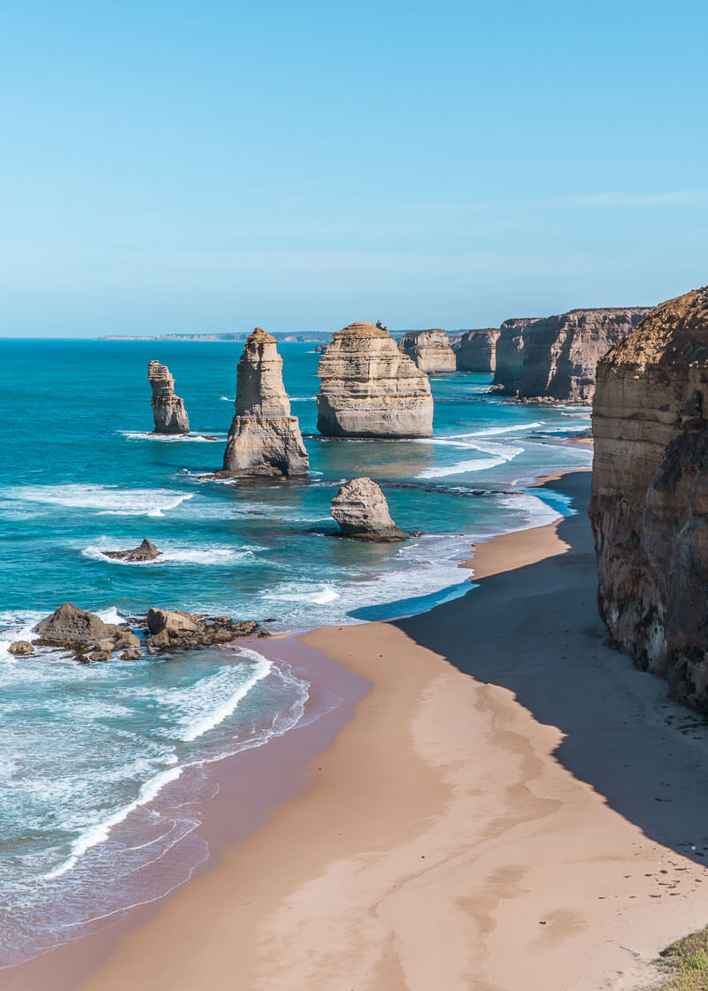 Great Ocean Road Tour From Melbourne - twelve apostles during the day