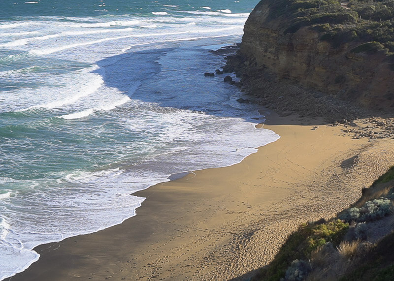 Great Ocean Road Tour From Melbourne - sea view from above