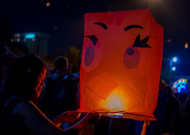 Loy Krathong Chiang Mai lantern festival - cute lantern
