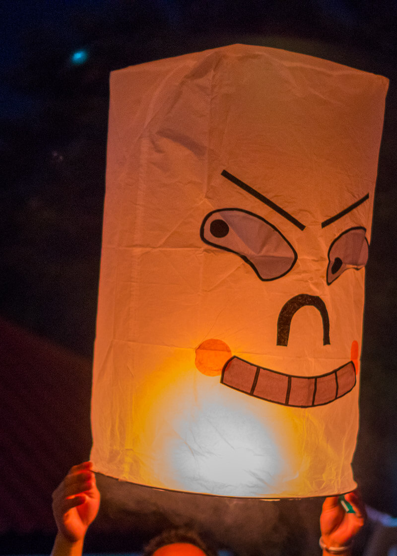 Loy Krathong Chiang Mai lantern festival - lantern