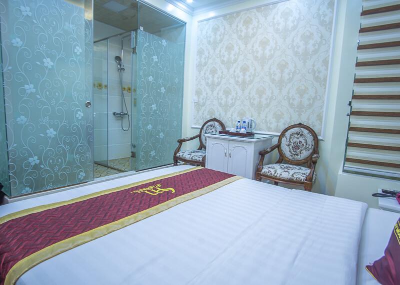 My Moon hotel Hanoi - windowless room