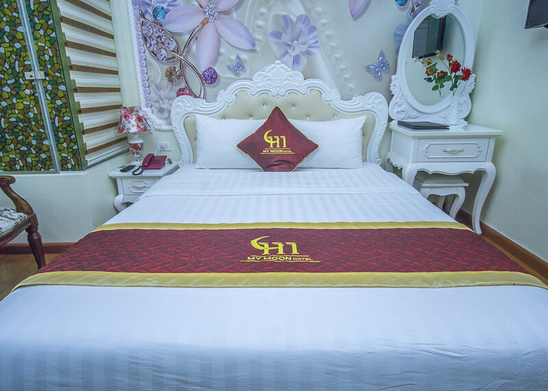 My Moon hotel Hanoi - firm bed