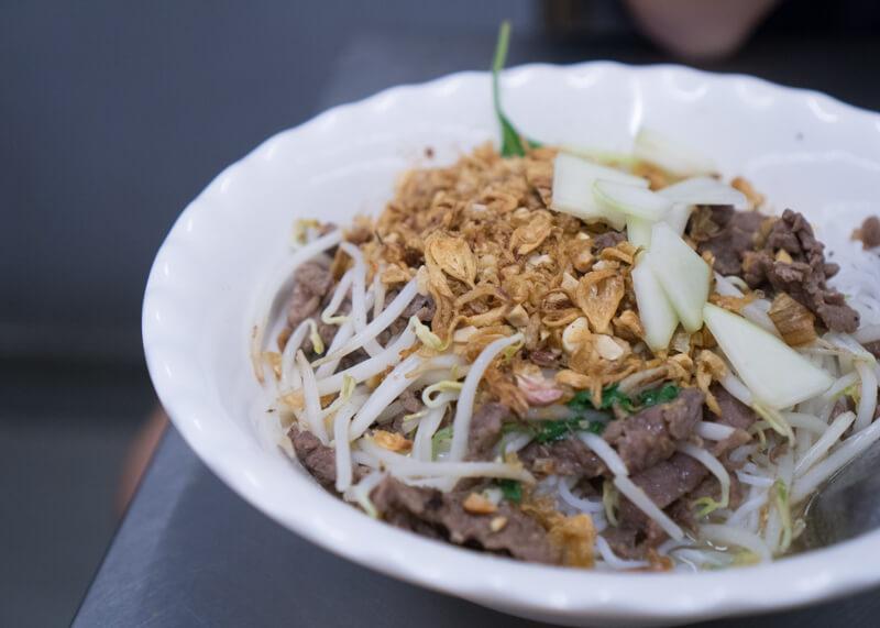 Best Food Hanoi Vietnam - Bún bò nam bộ