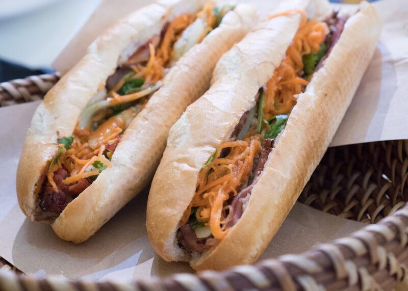 Best Food Hanoi Vietnam - banh mi vietnamese sandwich