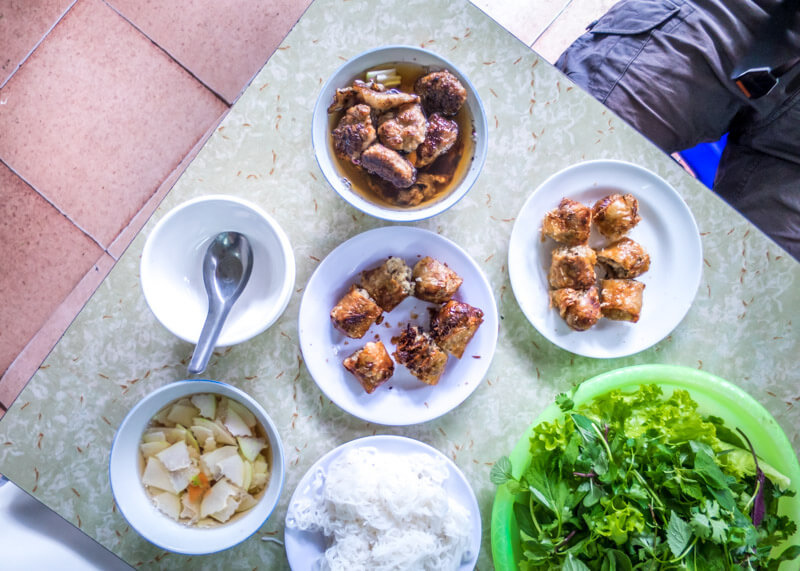 Best Food Hanoi Vietnam - Bún chả