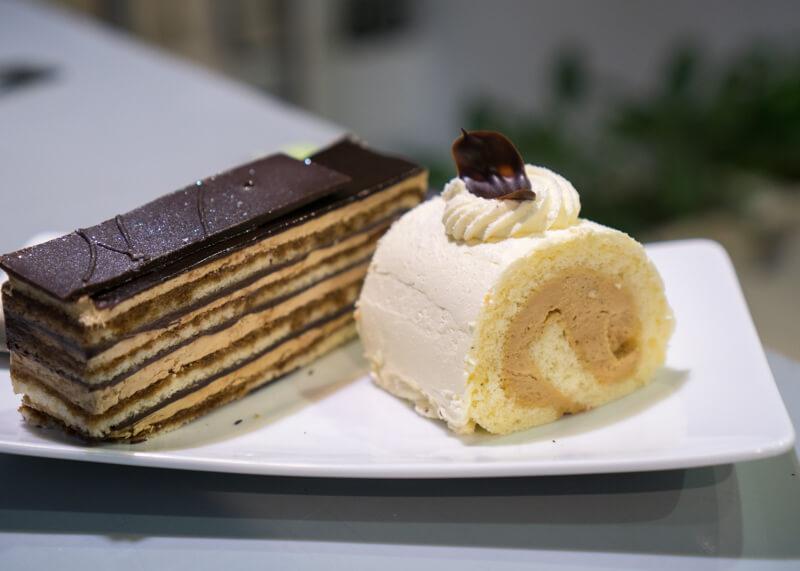 Best Food Hanoi Vietnam - Opera cake