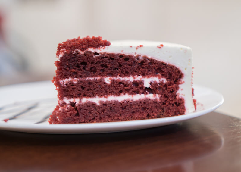 Best Food Hanoi Vietnam - Mars cake red velvet