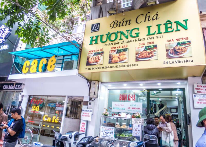 Best Food Hanoi Vietnam - Hương Liên