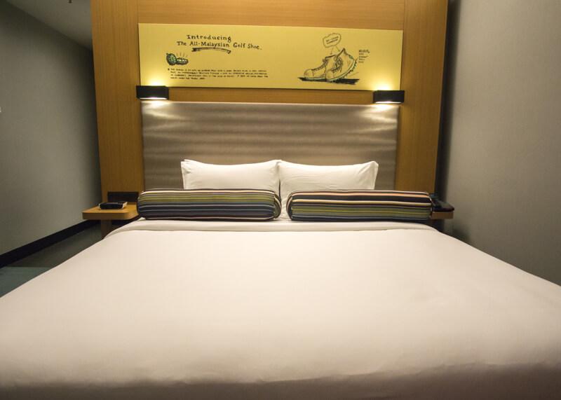 Hotel Aloft KL Sentral - super comfy bed