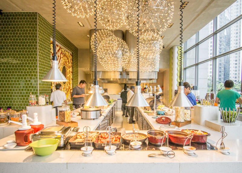 Hotel Aloft KL Sentral - free breakfast