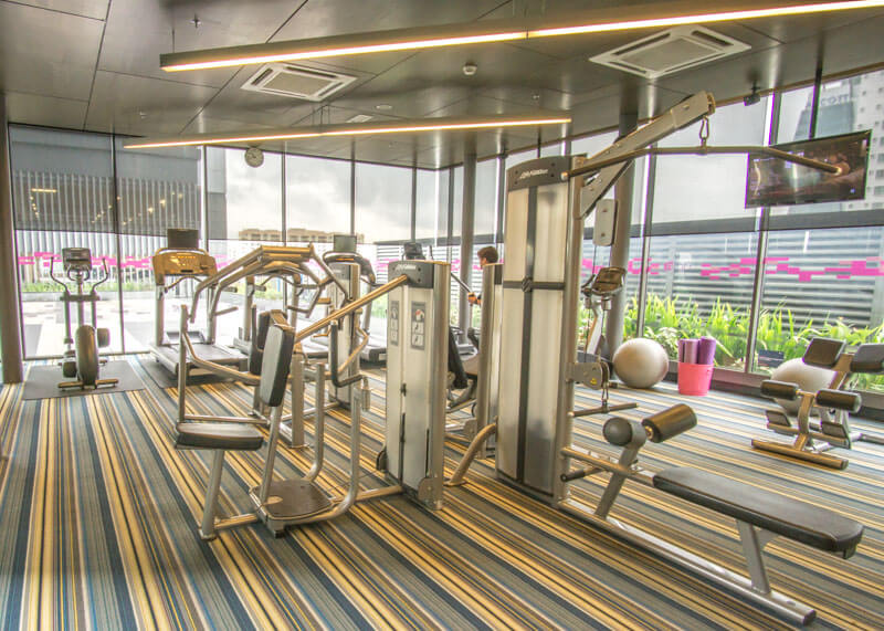 Hotel Aloft KL Sentral - Clean and modern gym