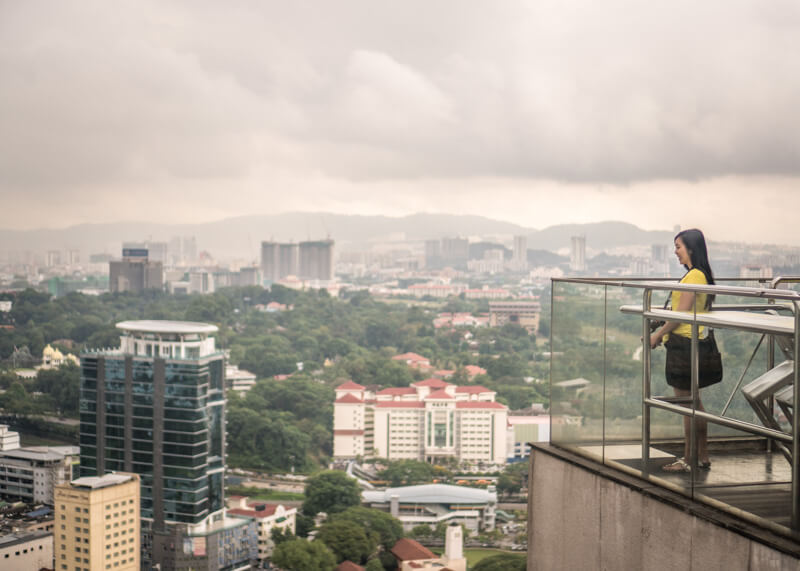 Hotel Aloft KL Sentral - rooftop