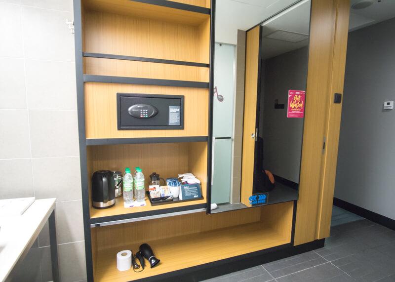 Hotel Aloft KL Sentral - closet