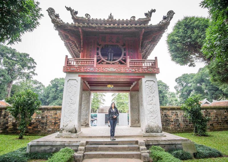 Sheraton hanoi hotel vietnam - Temple of Literature