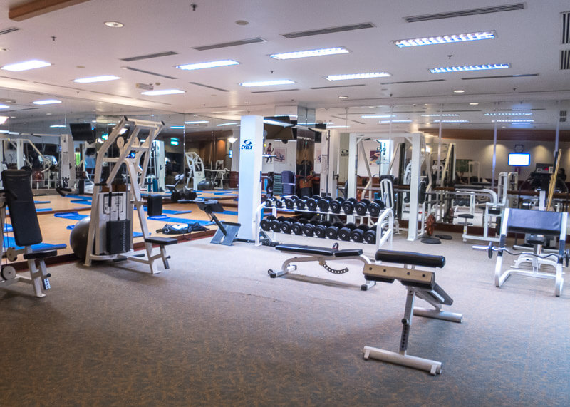 Sheraton hanoi hotel vietnam - gym equipment