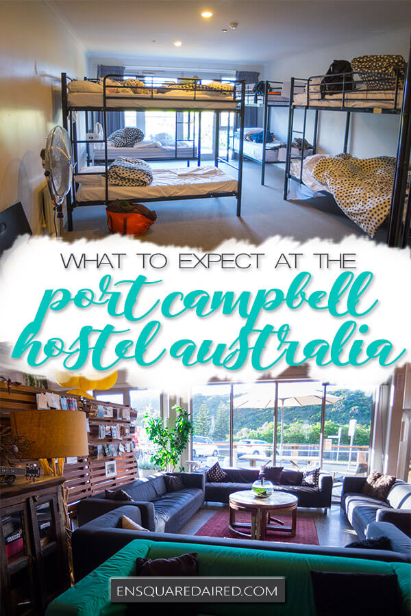 port campbell hostel - pin