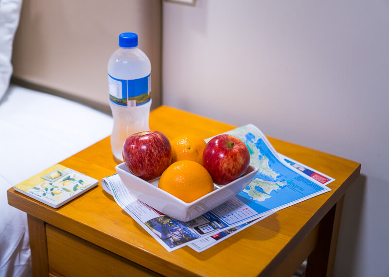 Best Western dunedin nz - Fruit and water