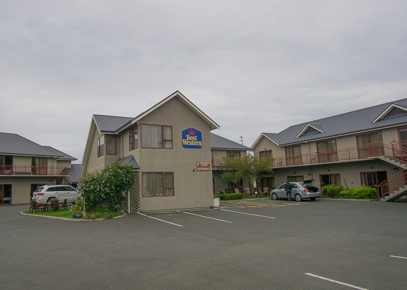 Best Western dunedin nz - parking lot