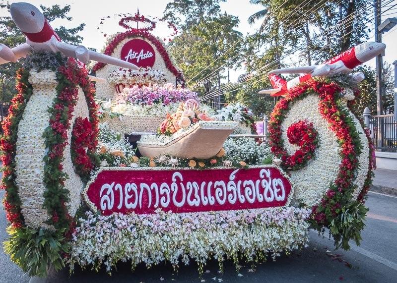 chiang mai flower festival - floats