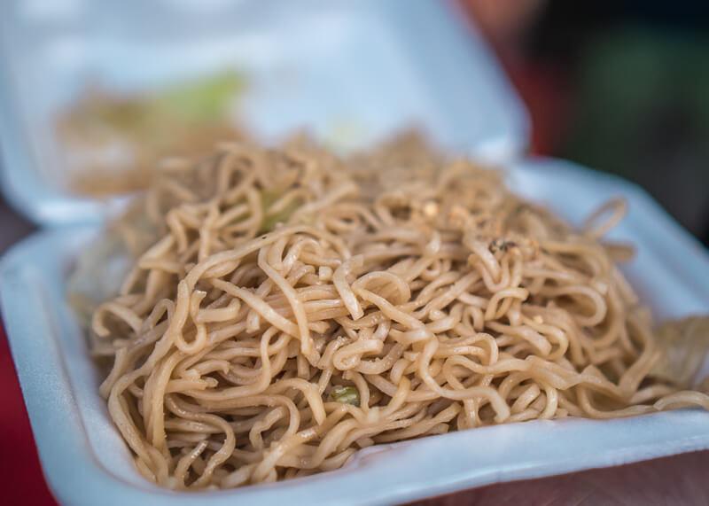chiang mai flower festival - noodles
