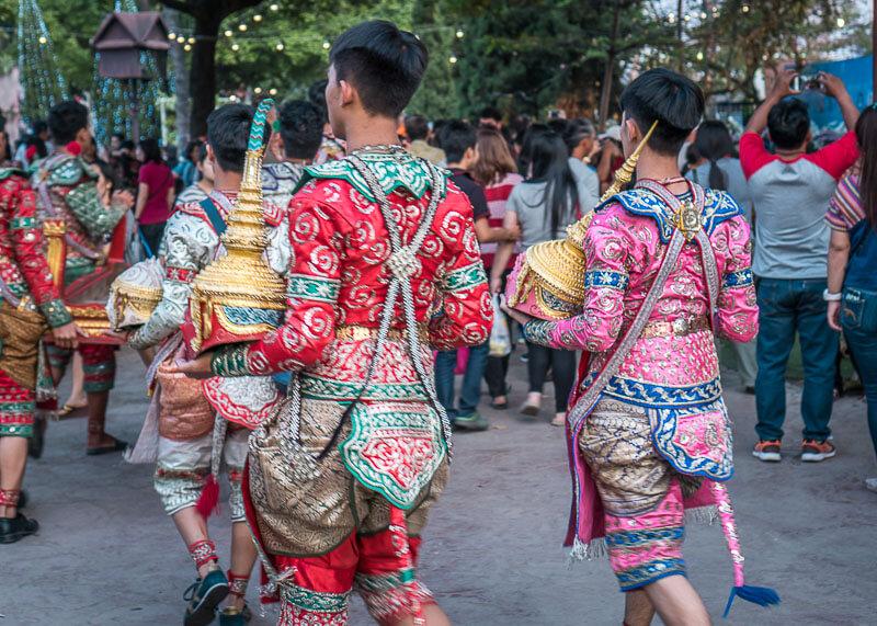 chiang mai flower festival - parade