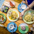 Why Cooking Love Chiang Mai Is So Popular | flatlay of Thai food